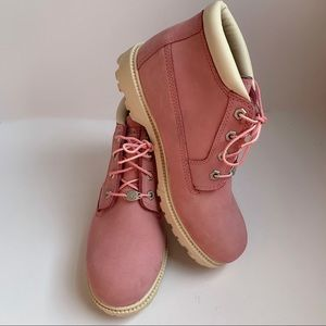 Timberland Nellie Pink Waterproof Boot, Size 8.5